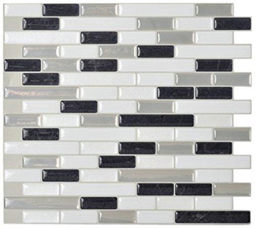Smart Tiles Muretto Alaska 3D Gel-Otm Piastrelle Adesive