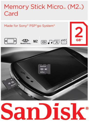 MemoryStick Micro 2GB Gaming Card für PSP Go! -