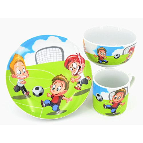 Retsch Arzberg Enfants Porcelaine Motif ballon de football