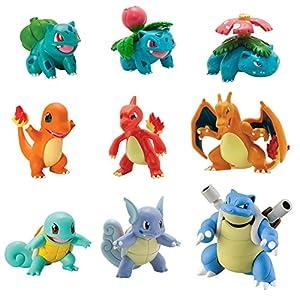 TOMY Pokémon Multi evolución Figura Pack 12