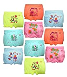 HAP Boy's and Girl's Cotton Bloomer Drawers (Light Colour, 3-4 Years) - Pack of 10