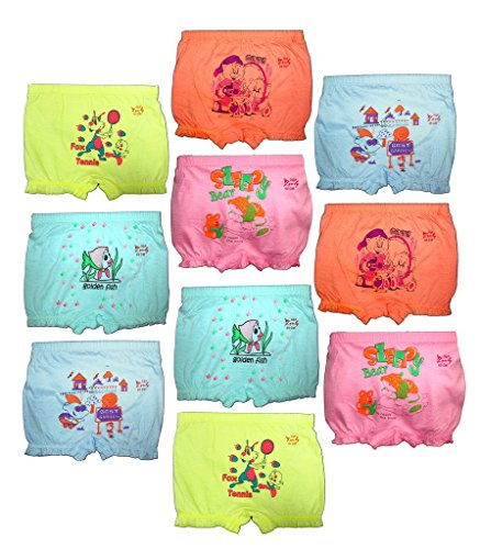 Hap Girls and Boys Light Color Bloomer Drawer Mix Pack(Pack of 10)