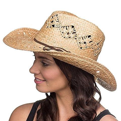 Jolene Cowgirl straw hat 15012