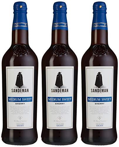 Sandeman Medium Sweet Sherry (3 x 0.75 l)