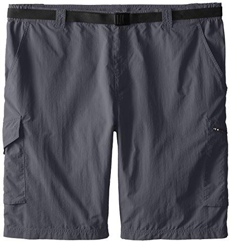 Columbia Sportswear Herren grossen und hohen Silver Ridge Cargo Shorts, Grill, 54 x 10 (Elite Sportswear)