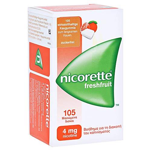 Nicorette 4mg freshfruit Kaugummi 105 Stück