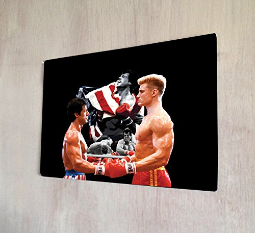 Rocky Balboa V Drago Movie Sign A4 retro Metal Art Sign