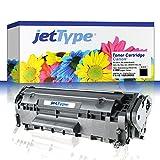 jetType Toner ersetzt Canon FX-10 / 0263B002 für FAX-L100, FAX-L140, i-SENSYS FAX-L140, schwarz, 2.000 Seiten