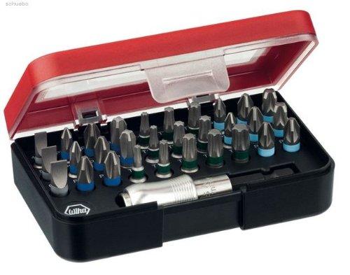 Preisvergleich Produktbild Wiha Bitbox/Set mit Magnet/Schnellkupplung Bithalter 31-teilig/79791-02VH/33235