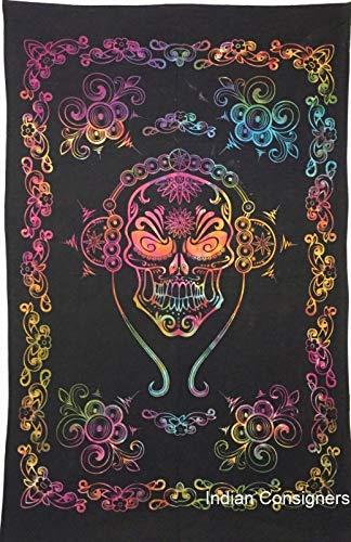 -Plakat-Multi Farbcollage-Baumwollgewebe-ethnische Wand hängende kleine Wolldecke Größe: 40