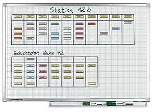 Legamaster 1001 54 Professional Tableau blanc quadrillé 90 x 120 cm