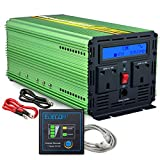 Generic 1500W Power Inverter Pure Sine Wave DC 12V to 230V AC Car