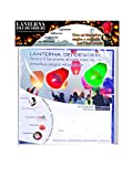 Ciao - Sky Lantern Set 4 Lanterne dei Desideri Colorate, Colori Assortiti