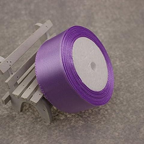 Hochzeit Party Supply DIY Handarbeit Handwerk Recht 25 Yards 1.5, hell-lila, eine Größe (Velvet Ballon-)