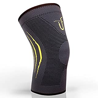 Knee Support Compression Knee Sleeve for Crossfit, Jogging, Basketball, Sports, Injury Recovery, Knee Brace for Meniscus Tear, ACL & Tendonitis, Arthritis and Joint Pain Single