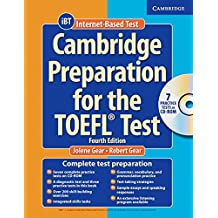 Cambridge Preparation for the TOEFL Test. Pack (Book, CD-ROM, Audio-CDs): Intermediate to advanced