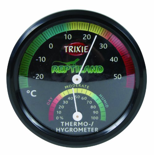 Trixie 76113 Thermo-/Hygrometer, analog, ø 7,5 cm