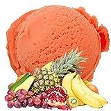 Tropic Geschmack 1 Kg Gino Gelati Eispulver Softeispulver für Ihre Eismaschine