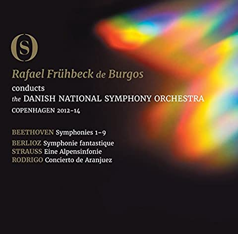 Ludwig van Beethoven: The Symphonies [Danish National Symphony Orchestra; Rafael Frühbeckde Burgos] [Dacapo: 2110433-35BD]