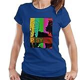 Photo de Alfred Hitchcock The Birds Psyche Colour Poster Women's T-Shirt par POD66