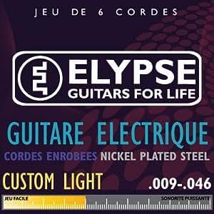 Cordes pour guitare électrique ES-504C - light - 09 46 - Elypse