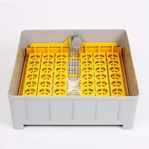 MVPower®Top Couveuse Digitale Automatique Pour Incubation 48 Oeufs Volailles 160W 220-240V