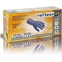 Reflexx R99, Guanti Hi-Risk in Nitrile senza Polvere