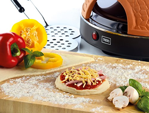 Trebs Pizzaofen mit Terrakottakuppel - 4