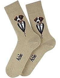 Mi-chaussettes chien Buddy en coton