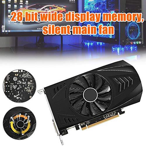 Fishyu 1050Ti 4GB Computerspiel Gaming Video-Grafikkarte Durable 128bit DDR5 HDMI