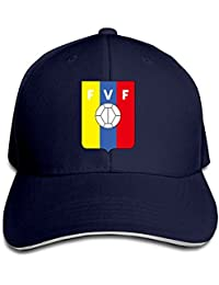 hittings Venezuela Soccer Team Sandwich Peaked Hat/Cap Marina