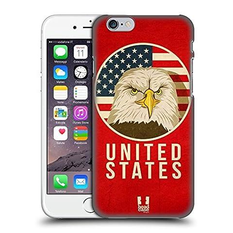 Head Case Designs États-Unis Animaux Patriotiques Étui Coque D'Arrière Rigide Pour Apple iPhone 6 / 6s