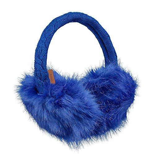 Barts Unisex Fur Earmuffs Yves Blue
