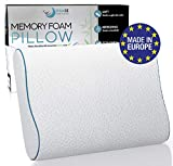 Best Chiropractic Pillows - Dreamzie Ergonomic Memory Foam Pillow and Orthopaedic Pillow Review