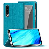 Foluu for Huawei P30 Case Cover, [Window View] [Auto