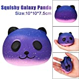 Squishys Squishies Panda , Squeeze Spielzeug , Yogogo 1 Cent Artikel Exquisite Kawaii Panda   Duft Langsam Steigende Spielzeug   Handy Zubehör Dekoration   Tasche Dekoration   Geschenk   10cm (Galaxis Panda)