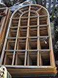 Antikas - Eisenfenster, stilvolles Fenster wie altes aus Fabrik -Scheune, westfälisch groß