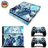 Dresden EishockeySony PS4 Playstation-Sticker, Aufklebermaterial aus Vinyl, Fanartikel, Sportfan