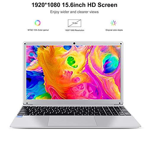 Notebook PC Portatile 156 pollice Laptop da Intel Atom X5 E8000 Schermo HD 1920*1080 IPS Windows10 Ultrabook con tastierino numerico 4GB RAM 64G SSD
