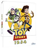 Locandina Toy Story Collection Bluray Steelbook  (4 Blu Ray)