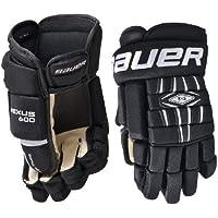 Bauer Handschuhe Bauer Handschuh NEXUS 600 - Senior - Guantes de jugador para hockey sobre hielo, color Negro, talla 15