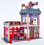 Hape Grande Caserne de Pompiers, E3023, Multicolor