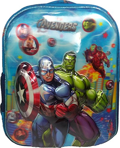 3D Avengers Spiderman Doraemon Dorimon Red & Blue Children's / kid's Backpack, school bag for class / standard Play School, Pre Nursery, Nursery, KG, UKG, LKG class for boys & girls 8 Liter, 13 Inch. For children ages 2 to 5 years  available at amazon for Rs.599