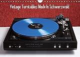 Vintage Turntables Made In Schwarzwald (Wandkalender 2018 DIN A4 quer): Nahaufnahmen von Schallplattenspielern aus dem Schwarzwald (Monatskalender, 14 ... [Kalender] [Apr 01, 2017] Müller, Gerhard