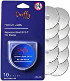 Lame Taglierine Rotative 45mm 10-PACK per OLFA, Fiskars, DAFA e Truecut - Taglierino Rotante Da Driffy