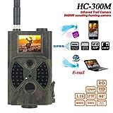 Caza 12MP 1080P cámara de caza Cámara de Vida Silvestre Cámara de infrarrojos 940nm IR LED cámara de caza HC300M vigilancia GPRS/MMS/SMS con mando a distancia