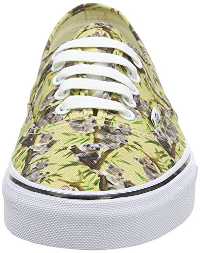 Vans Authentic, Sneakers Basses Mixte Adulte Multicolore (Chambray/Koala/True White)