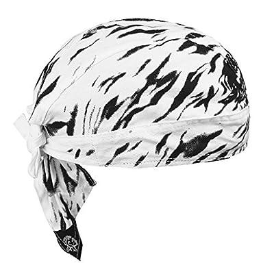 Cycling Skeleton Hat Men Sport Headwear Retro Pirate Cap Youth Hiphop Bandana Motorcycle Bike Magic Skull Cap Sun UV Protection Running Headband Under Helmet Cotton Beanie Summer Windproof Turban Gift from JIAHGUK