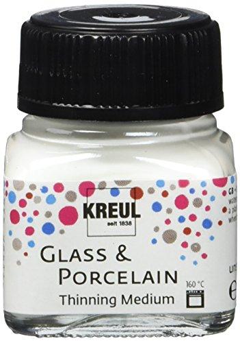 Kreul 16273 Glas-und Porzellanfarbe, Farblos