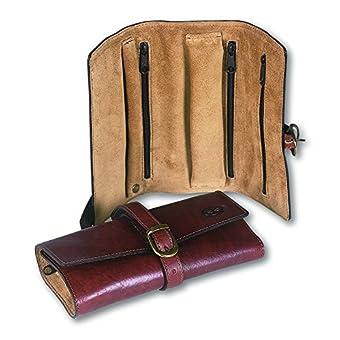 Di Berardino 10178 custodia-gioielli vitello marrone, Kofferorganizer braun braun cm 24x17,5.